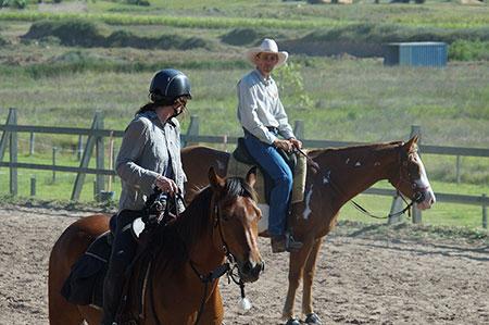 Beginner-rider-Horsemanship